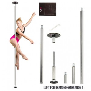 Lupit Pole G2 DIAMOND CHROME 42/45 mm